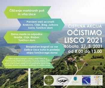 Akcija Očistimo Lisco 2021
