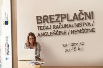 Vabilo na brezplačne tečaje jezikov in računalništva v Celju