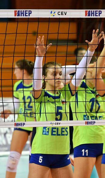 Selena Leban in Tiana Karnel v novi sezoni k Gen-i Volley