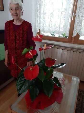 Jelka Brezavšček – 90 let