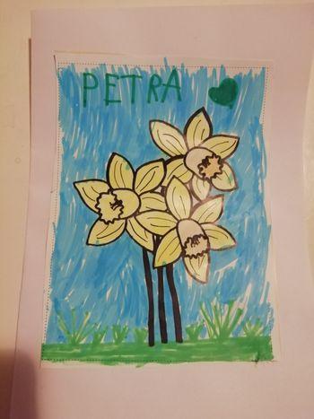 Nagrajenka voščilnice Rožice za mojo mamo iz 64. številke občinskega časopisa Most
