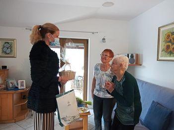 Ana Boltar praznuje častitljiv jubilej ,100 .rojstni dan