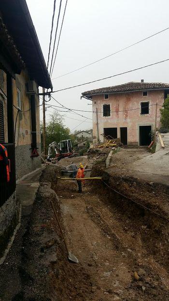 Dela v Borjani pospešeno potekajo