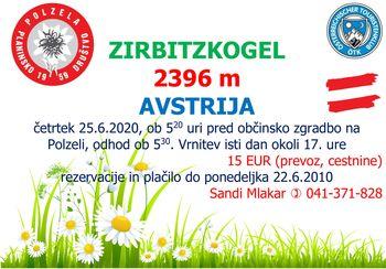 Zirbitzkogel, 2396 mnv