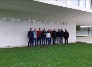 Obisk Nogometne zveze Slovenije na Brdu pri Kranju