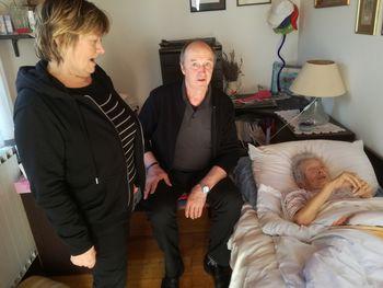 Obisk najstarejše članice Društva upokojencev Polzela