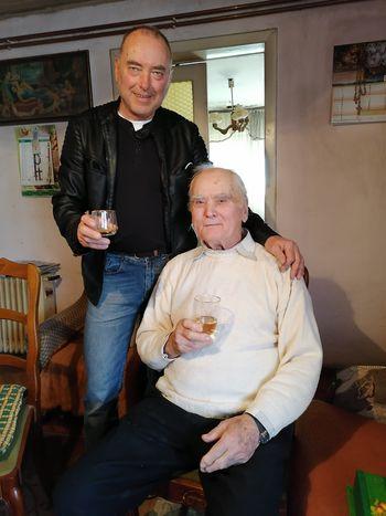 Jože Ducman je praznoval 90 let