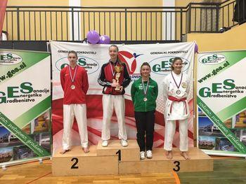 Karate klub Polzela bogatejši za štiri državne prvake