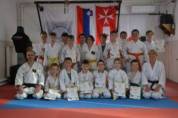 Izpiti za višje pasove v Karate klubu Polzela