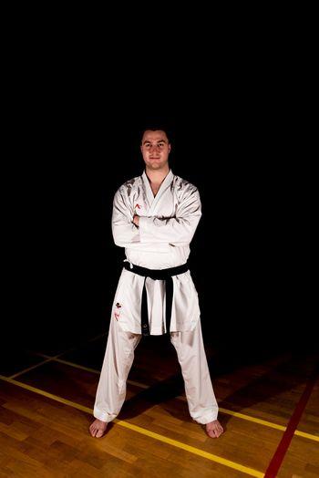 Luka Deberšek, član in glavni trener za borbe Karate kluba Polzela, pridobil naziv Športni delavec II