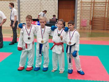 Polzelski karateisti odlični na mednarodnem turnirju v Kranju