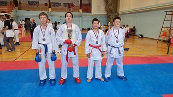 Polzelski karateisti drugi najboljši klub na mladinskem državnem prvenstvu