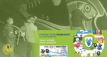 Grafitarnica med vodami - Evropski teden mobilnosti 2020 v Medvodah