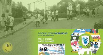 3sprehodi »Polje – gozd – voda« - Evropski teden mobilnosti 2020 v Medvodah