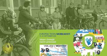 Pripelji srečo v službo - Evropski teden mobilnosti 2020 v Medvodah