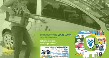 Knjigofer - Evropski teden mobilnosti 2020 v Medvodah