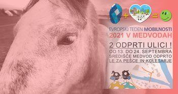 Hraški konji - fotografska razstava Žige Koritnika - Evropski teden mobilnosti 2021 v Medvodah