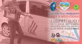 Knjigofer - Evropski teden mobilnosti 2021 v Medvodah
