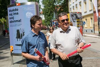 »Kulturni utrip Ljubljane« ob 25. obletnici podjetja TAM-TAM