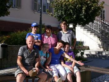 Nizozemska družina že petič letovala v Kanalu
