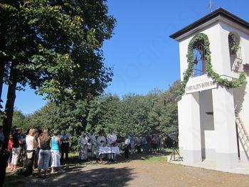 Obnovljena cerkvica sv. Genderce