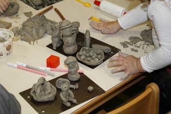izdelovali smo izdelke iz gline