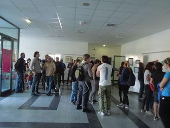 Otvoritev razstave del Anastazije Pirnat
