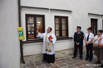 Defibrilator tudi na Linhartovem trgu