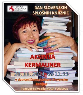 DAN SLOVENSKIH SPLOŠNIH KNJIŽNIC – 20. 11. 2014