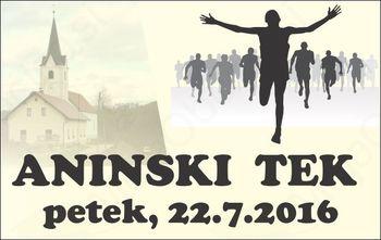 10. ANINSKI TEK - CIRKULANE 2016 - petek, 22.7.2016