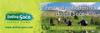 V petek se začne Festival pohodništva