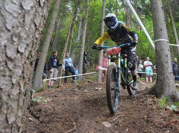 Noro kolesarsko adrenalinsko doživetje nad Blagovico