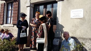 Člani TD Bled na ekskurziji v Goriških Brdih in Vipavski dolini