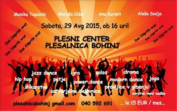 Otvoritev plesnega centra Plesalnice Bohinj