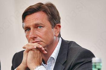 Tudi v Borovnici je zmagal Borut Pahor