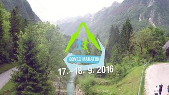 Bovec Maraton ima nov promo video