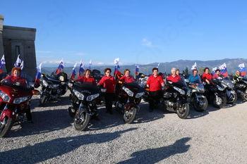 Članice Društva žena Miren-Orehovlje pogostile motoriste