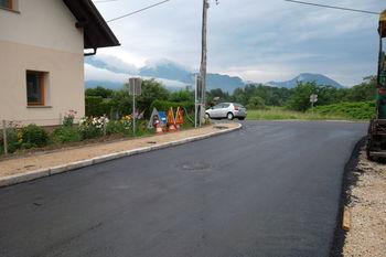 Obnova ceste Bled – Podhom je (skoraj) končana