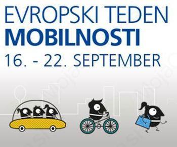 Evropski teden mobilnosti 2016 – Pametna mobilnost za gospodarsko uspešnost
