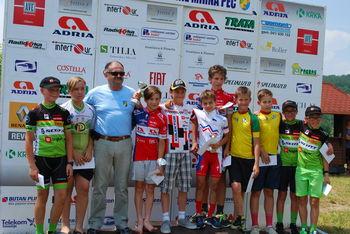Domači kolesarji uspešni na dirki za Pokal Občine Mirna Peč