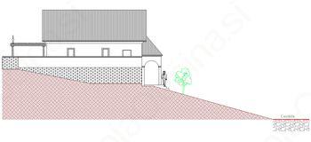 Projekt izgradnje mrliške vežice na Črnem Vrhu in v Šentjoštu