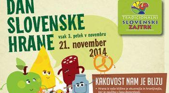Tradicionalni slovenski zajtrk na osnovni šoli