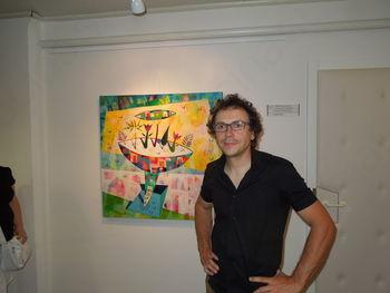 David Ličen razstavlja v Ljubljani