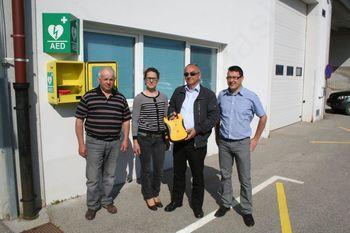 V občini Loški Potok nameščeni štirje defibrilatorji.