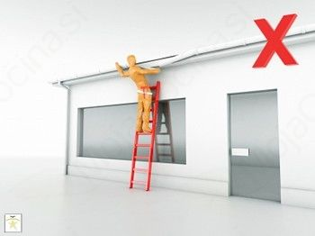 Obvezna prijava kratkotrajnih del na višini (krovstvo, tesarstvo, kleparstvo, fasaderstvo, montaža oken ...)