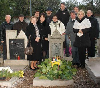 Ob 150.obletnici rojstva Hrabroslava Volariča obiskali njegov grob