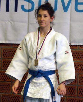 Ljudmila Merčnik državna kadetska prvakinja za leto 2014, Tamara Kraljić bronasta