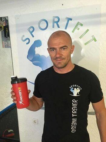 Drago Adamič, osebni trener v Sportfitu