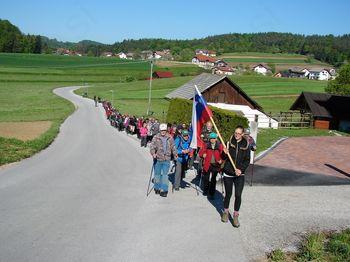 XIV. pohod od Murnc do Telč