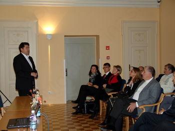 Srečanje Italijansko-slovenskega foruma italo-sloveno v Coroninijevem dvorcu